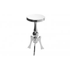Журнальный стол металлический хромированный 2k11730