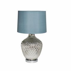 Лампа настольная плафон синий 22-88017