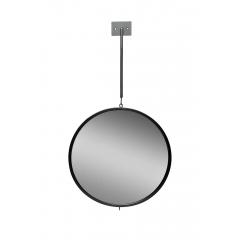 Зеркало круглое с планкой 19-oa-6003bl