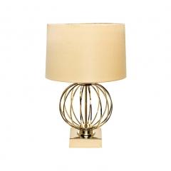 Настольная лампа золотая 22-86949