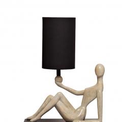 "Лампа настольная ""женщина"" (черный плафон) art-4441-lm"