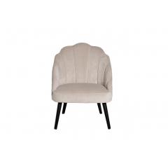 Кресло велюровое кремовое pjc483-pj634