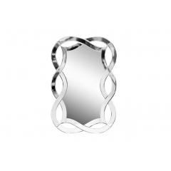Зеркало декоративное с фигурной зеркальной рамой