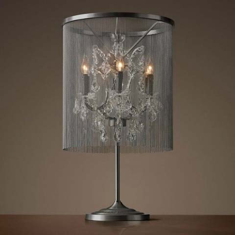 лампа настольная Vaille crystal 3005–T6